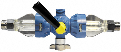 BEVI CLEAN Dreiwege-Vorsatzgerät für mechanische Reinigung