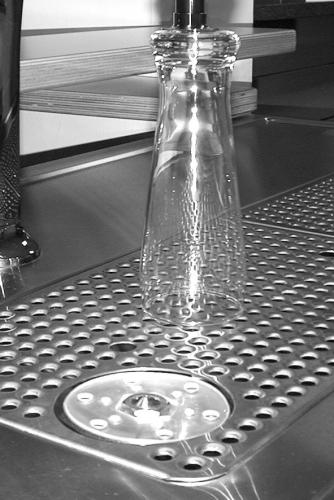 Zubehör für MM-Theke Gläserdusche für Kühltheke