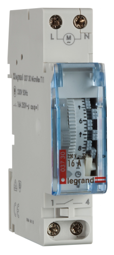 Legrand Zeitschaltuhr MicroRex T11
