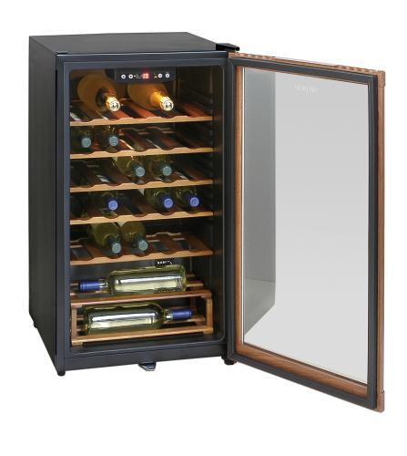 Glastürkühlschrank - BE1-20 mit statischer Kühlung