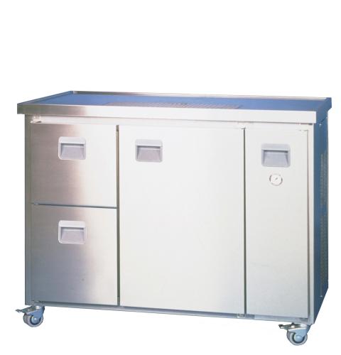 Mobiltheke MT2Z 1-leitig mit Raum- und Durchlaufkühlung 60 L/h,
