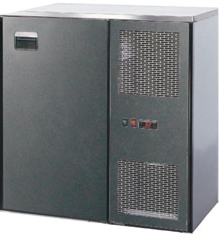 MAXIMAX-Kühltheke-Bauteile 650 mm Tiefe (690 mm über Tür) mit Kälteaggregat STF steckerfertig