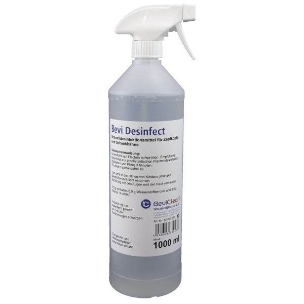 Bevi Desinfect 1 Liter Sprühflasche