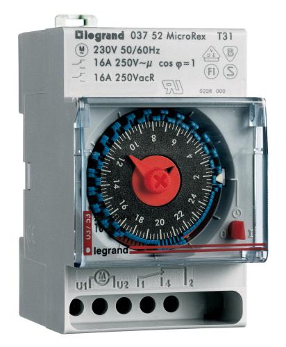 Legrand Zeitschaltuhr MicroRex T31
