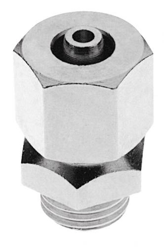 Quetschverschraubung für CO2-Schlauch 4 x 8 mm NW,