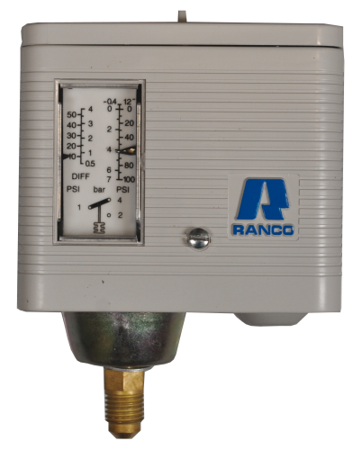 Pressostat Ranco Modell O 160H6703 NA