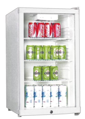 Glastürkühlschrank - BC1-10 mit statischer Kühlung