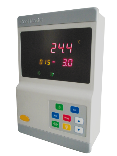 Kühlstellenregler COOLMASTER Kühlstellenregler für den Einsatz in Pluskühlung und Tiefkühlung mit Ec