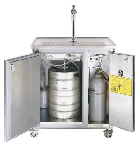 Mobiltheke MT1 1-leitig mit Raum- und Durchlaufkühlung 60 L/h