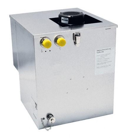 Wasserbad-Satellitenkühler Begleitkühlung zum Anschluss an Zentralkühlung