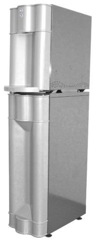 Kühles Sprudel- & Tafelwasser aus der Wasserleitung Tafelwassergerät CT 30 Poseidon, Standgerät Zapf