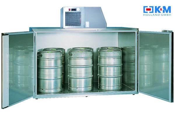 Fassvorkühler, Fasskühler, Fassbox für 6 KEG Fässer