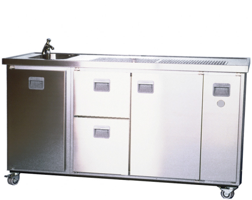Mobiltheke MT4Z 1-leitig mit Raum- und Durchlaufkühlung 60 L/h