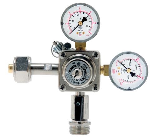 Stickstoff (N2)-Druckminderer ODL, 0-6/3 bar oder 0-10/7 bar, SK 215.16