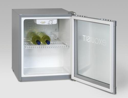 Glastürkühlschrank KB01G mit statischer Kühlung