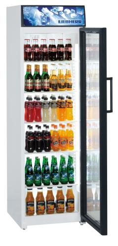 Kühlgeräte BCDv 4313 zur Verkaufsförderung mit Umluftkühlung