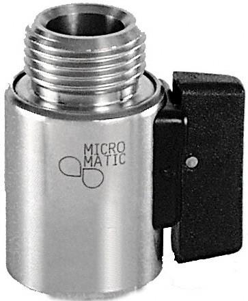 Micro Matic Bierabsperrhahn CNS