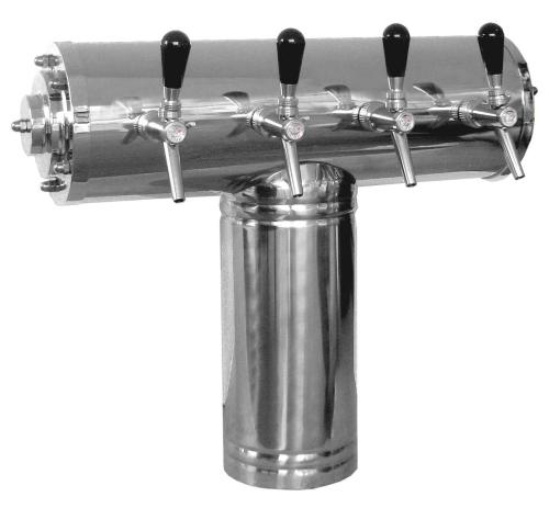 "Schanksäule Modell ""RJ2211"" 3 bis 6 leitig"