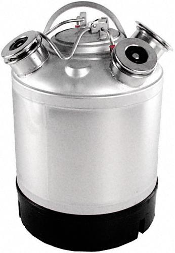 Reinigungsbehälter 9 L CNS Für Coca Cola (CC) Fitting-System