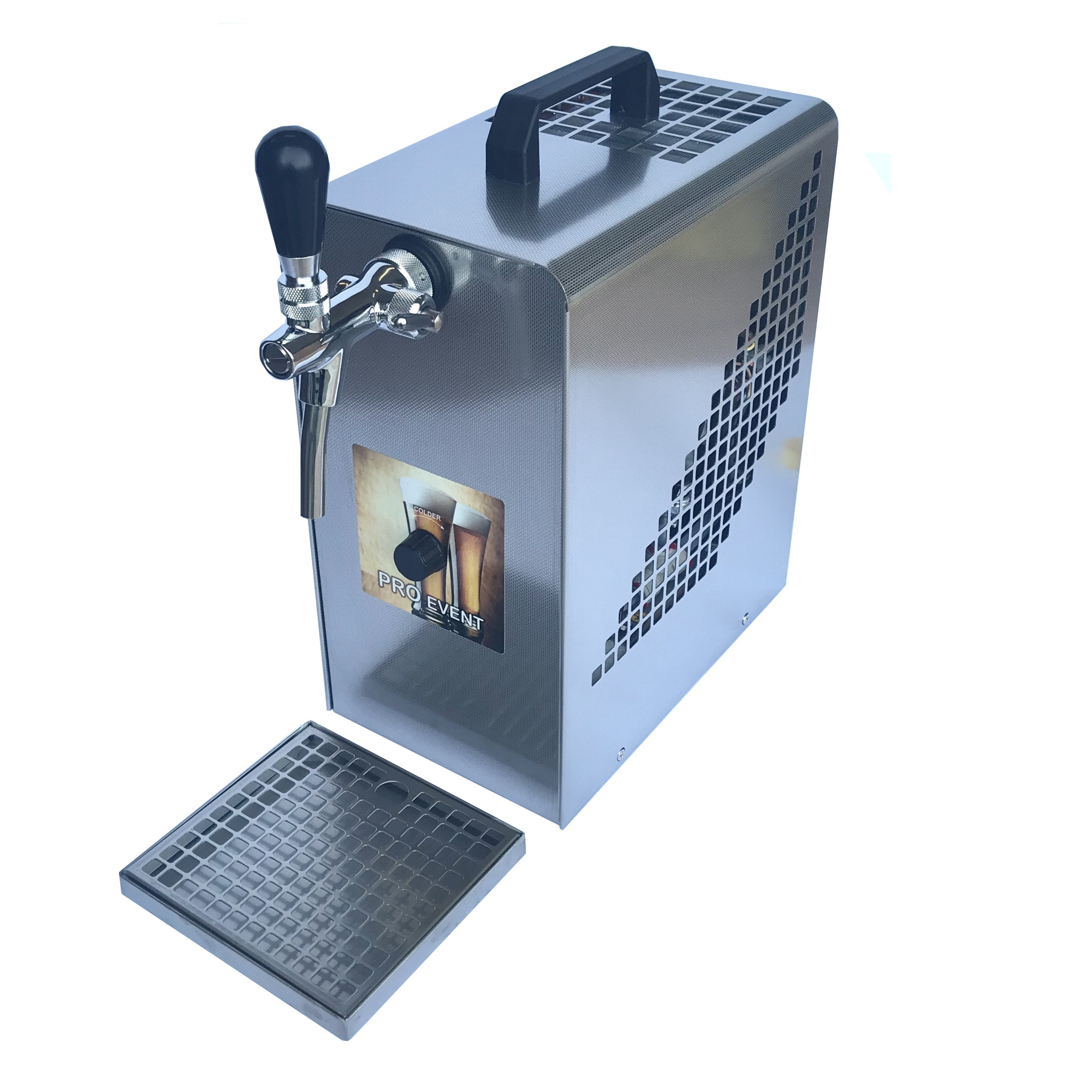 bierk hler zapfanlage bierkoffer 1 leitig mit integr luftkompressor. Black Bedroom Furniture Sets. Home Design Ideas