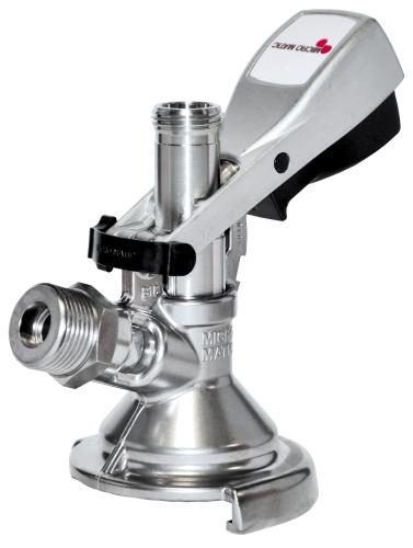 Flach KEG Zapfkopf Micro Matic Keg Verschluss