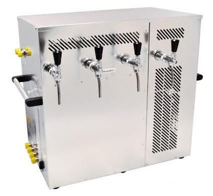 Nasskühlgerät 4-leitig, 200 Liter/h Kombikühlgerät, Begleit- und Durchlaufkühlung in einem Gerät Bit