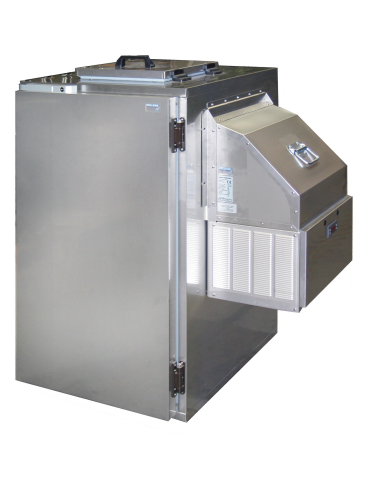 Nassmüllkühler für 120 Liter Mülltonne Stahl verzinkt