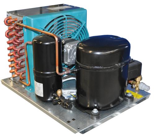 Verflüssigungssätze Komplette Kälteaggregate Aspera Embraco